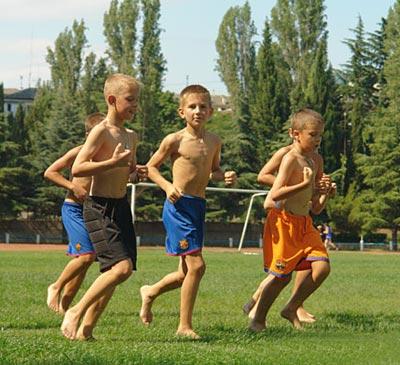 Юные физкультурники